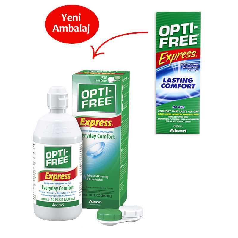 Opti Free Express 355 ml Lens Solüsyonu fiyatları